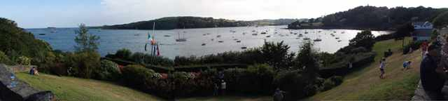 Glandore Harbour (Bay) Panorama