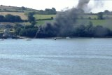 Boat on Fire?