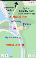 Map Pyrford