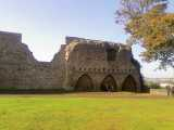 Rochester Castle grounds